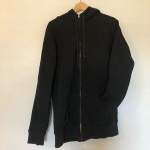 Tna long zip-up hoodie